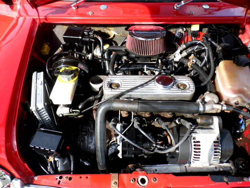 2000 Rover Mini 7 Sport in Red and black Alloys For Sale (picture 5 of 6)