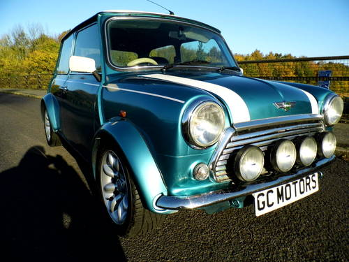 Rover Mini Cooper Sport 1999 T in Met blue For Sale (picture 1 of 6)