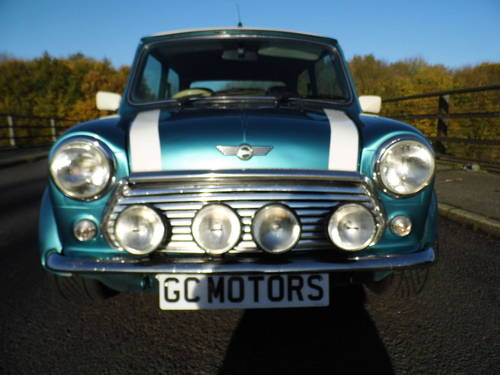 Rover Mini Cooper Sport 1999 T in Met blue For Sale (picture 2 of 6)