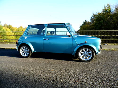 Rover Mini Cooper Sport 1999 T in Met blue For Sale (picture 3 of 6)