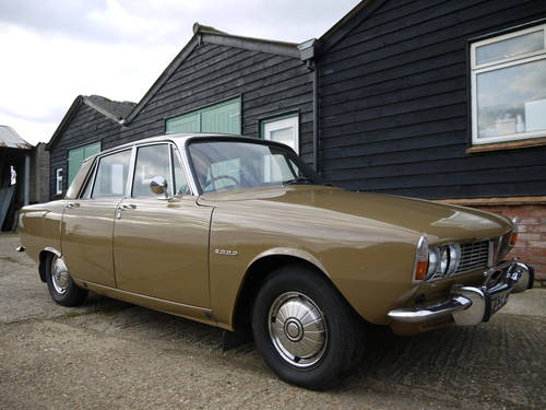 1970 ROVER P6 2000 SC SALOON - LOW MILEAGE & LOW OWNERSHIP !! SOLD (picture 1 of 6)