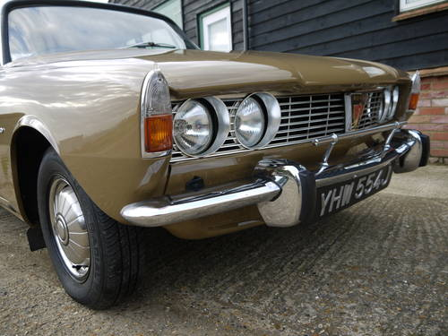 1970 ROVER P6 2000 SC SALOON - LOW MILEAGE & LOW OWNERSHIP !! SOLD (picture 3 of 6)