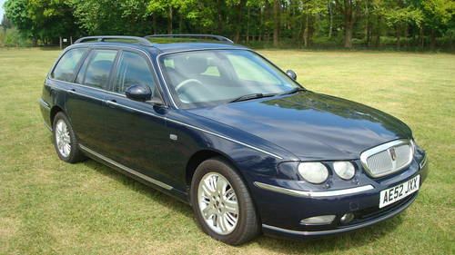 2002 Rover 75 Diesel Club SE Tourer SOLD (picture 1 of 6)