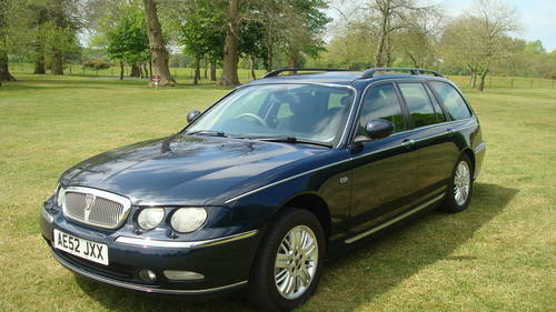 2002 Rover 75 Diesel Club SE Tourer SOLD (picture 2 of 6)