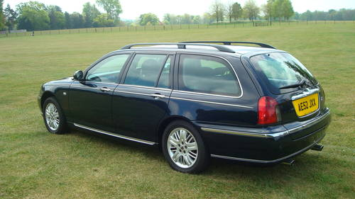 2002 Rover 75 Diesel Club SE Tourer SOLD (picture 4 of 6)