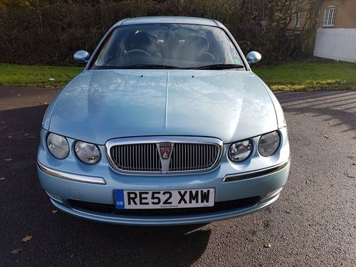 2002 Rover 75 Club 1.8 Ltr 16 Valve SOLD (picture 1 of 6)