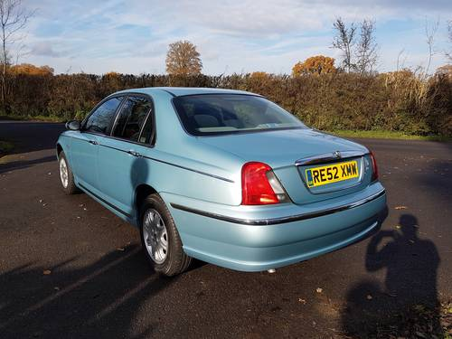 2002 Rover 75 Club 1.8 Ltr 16 Valve SOLD (picture 4 of 6)