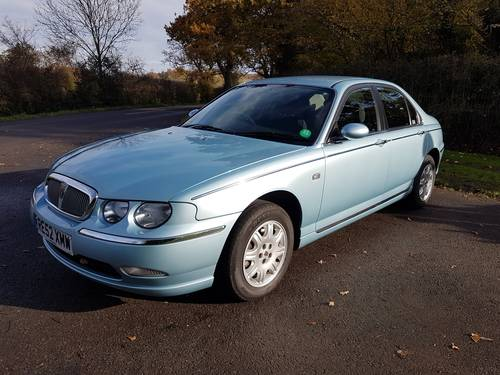 2002 Rover 75 Club 1.8 Ltr 16 Valve SOLD (picture 5 of 6)