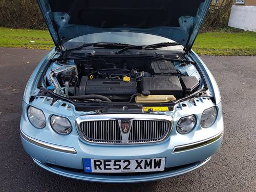 2002 Rover 75 Club 1.8 Ltr 16 Valve SOLD (picture 6 of 6)