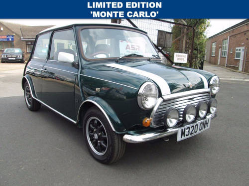 1994 M Rover Mini 13 Cooper Monte Carlo For Sale Car And Classic