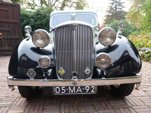 1938 Fully restored Rover 16 HP rhd For Sale (picture 3 of 6)