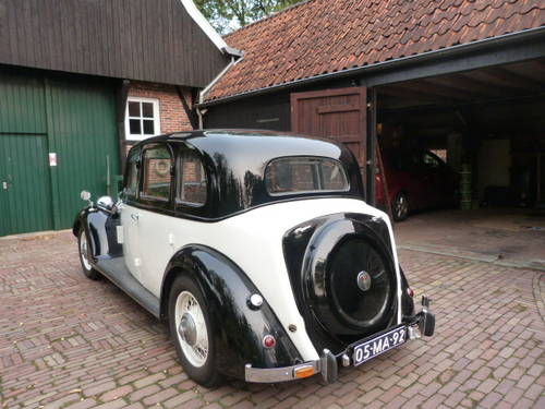 1938 Fully restored Rover 16 HP rhd For Sale (picture 6 of 6)