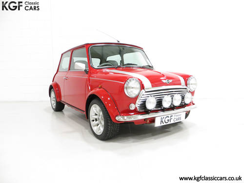 2001 A Collectable Rover Mini Cooper Sport 500 with 5,791 Miles SOLD (picture 1 of 6)