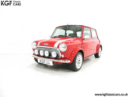 2001 A Collectable Rover Mini Cooper Sport 500 with 5,791 Miles SOLD (picture 2 of 6)