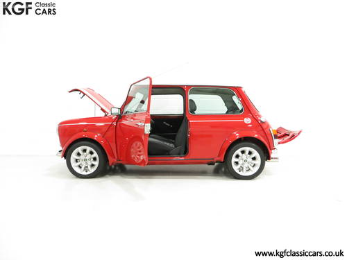 2001 A Collectable Rover Mini Cooper Sport 500 with 5,791 Miles SOLD (picture 3 of 6)