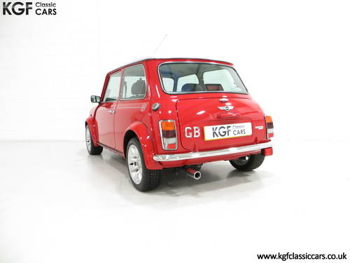 2001 A Collectable Rover Mini Cooper Sport 500 with 5,791 Miles SOLD (picture 4 of 6)