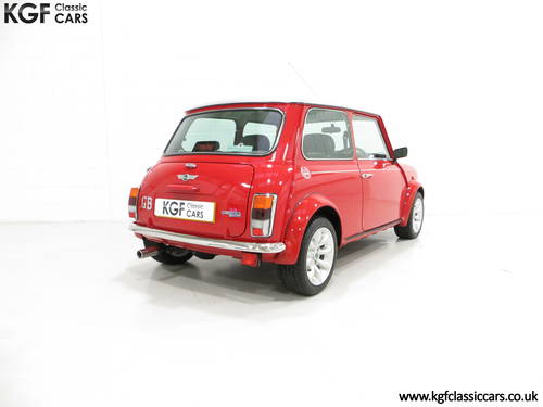 2001 A Collectable Rover Mini Cooper Sport 500 with 5,791 Miles SOLD (picture 5 of 6)