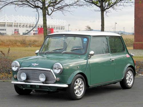 1997 MINI COOPER 35th ANNIVERSARY EDITION * LOW MILEAGE SOLD (picture 1 of 6)