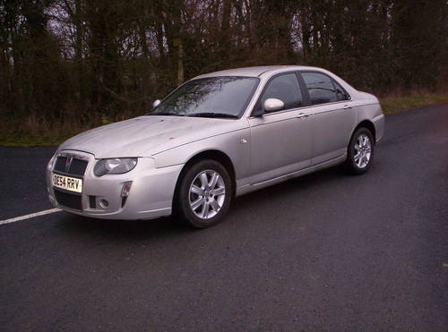 2005 a low milaege rover 75 diesel connoisseur manual SOLD (picture 1 of 5)