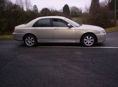 2005 a low milaege rover 75 diesel connoisseur manual SOLD (picture 2 of 5)