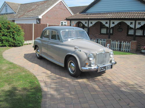 Rover P4 60 1955 Restored For Sale (picture 1 of 6)