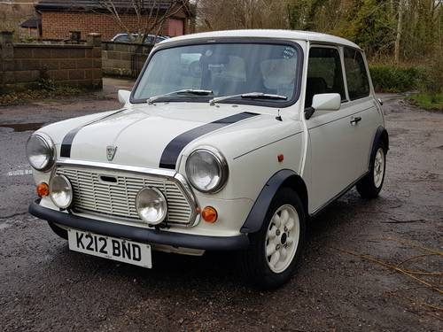 1993 Rover Mini Italian Job Sold Car And Classic