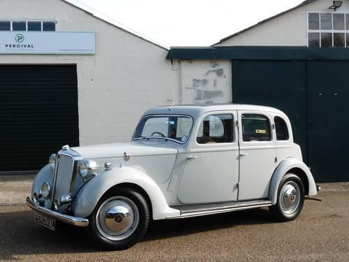 1948 Rover 75 P3, six cylinder, Sold SOLD (picture 1 of 6)