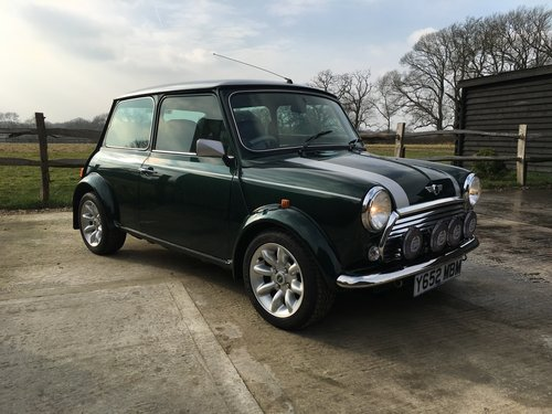 2001 Mini Cooper Sport Only 170 Miles 1 Owner From For Sale (picture 2 of 6)