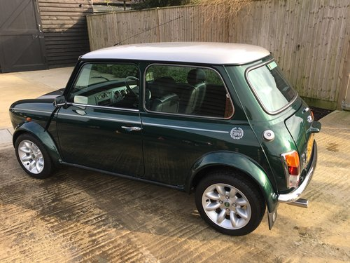 2001 Mini Cooper Sport Only 180 Miles 1 Owner From For Sale (picture 3 of 6)