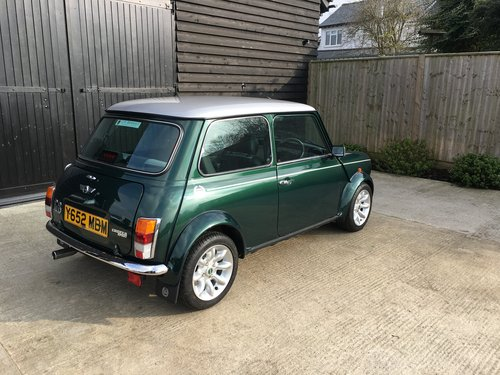 2001 Mini Cooper Sport Only 170 Miles 1 Owner From For Sale (picture 4 of 6)
