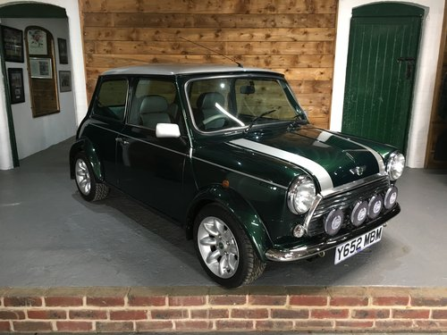 2001 Mini Cooper Sport Only 180 Miles 1 Owner From For Sale (picture 6 of 6)