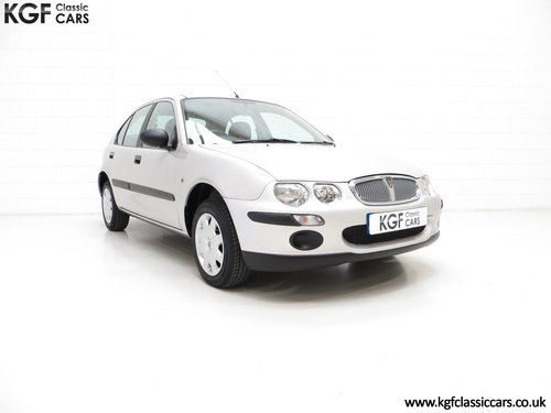 2001 A Time Capsule Rover 25iE 16v with Just 5,578 Miles SOLD (picture 1 of 6)