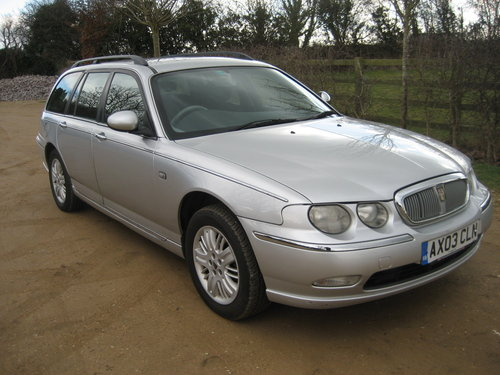 2003 Rover 75 Club SE Tourer Automatic SOLD (picture 1 of 6)