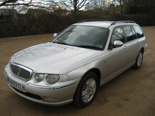 2003 Rover 75 Club SE Tourer Automatic SOLD (picture 2 of 6)