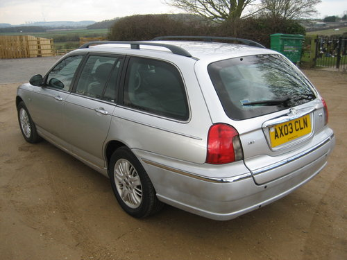 2003 Rover 75 Club SE Tourer Automatic SOLD (picture 3 of 6)