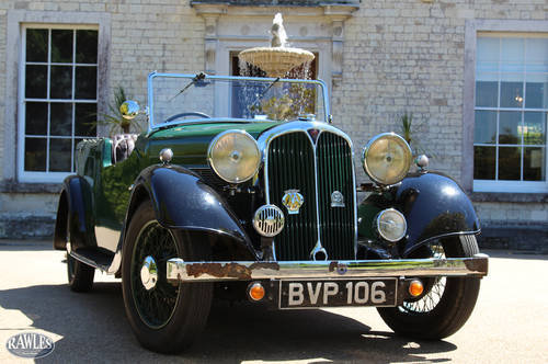 1936 Rover 12 Tourer | Beautifully Preserved -Spare Engine/Gearbx SOLD (picture 1 of 6)