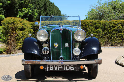 1936 Rover 12 Tourer | Beautifully Preserved -Spare Engine/Gearbx SOLD (picture 2 of 6)