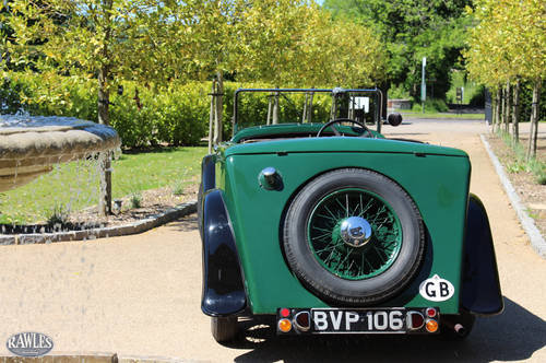 1936 Rover 12 Tourer | Beautifully Preserved -Spare Engine/Gearbx SOLD (picture 4 of 6)
