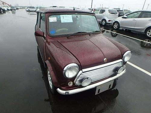 1999 CLASSIC MINI 40TH ANNIVERSARY EDITION IN MULBERRY  For Sale (picture 1 of 6)