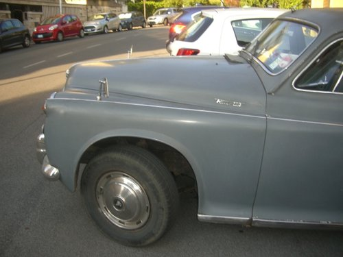 1962 ROVER P4 110 OVERDRIVE-ALUMINUM PANELS For Sale (picture 6 of 6)