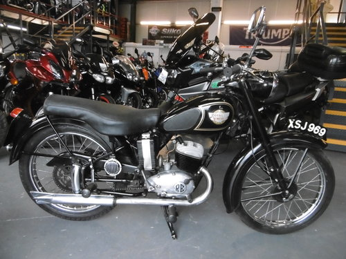 1959 ROYAL ENFIELD ENSIGN 150 Rare and original SOLD (picture 1 of 6)