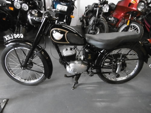 1959 ROYAL ENFIELD ENSIGN 150 Rare and original SOLD (picture 2 of 6)