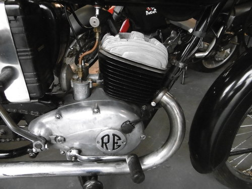 1959 ROYAL ENFIELD ENSIGN 150 Rare and original SOLD (picture 6 of 6)