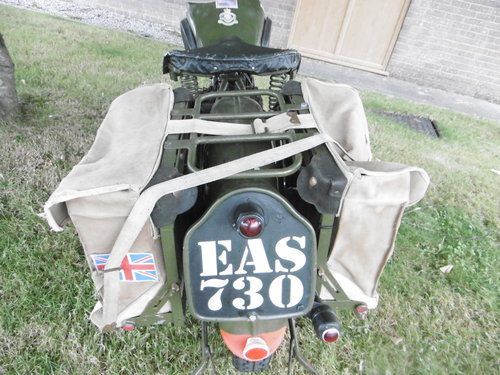 WD350 side valve 1944 used in Normandy  SOLD (picture 6 of 6)