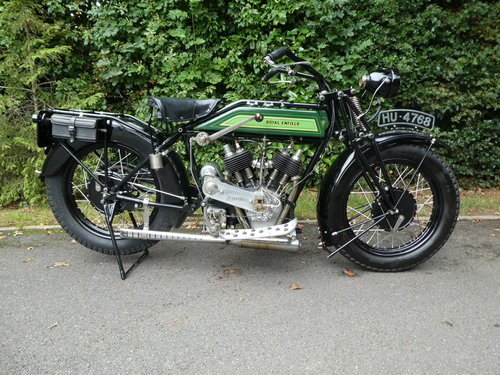 1925 Royal Enfield Model 190 1000cc V Twin For Sale (picture 1 of 6)
