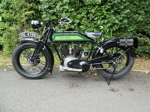 1925 Royal Enfield Model 190 1000cc V Twin For Sale (picture 2 of 6)