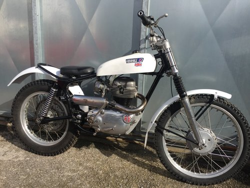 1960 ROYAL ENFIELD TRIALS VERY RARE ACE BIKE £3950 OFFERS PX  For Sale (picture 1 of 4)