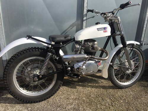 1960 ROYAL ENFIELD TRIALS VERY RARE ACE BIKE £3950 OFFERS PX  For Sale (picture 3 of 4)