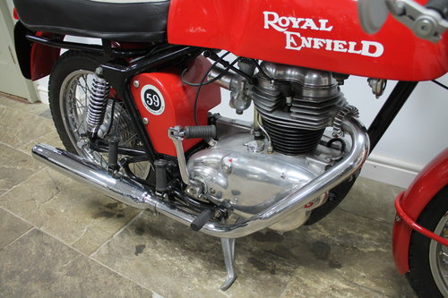 1966 Royal Enfield Continental GT 250cc Single With 5 speed SOLD (picture 3 of 6)