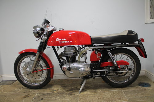 1966 Royal Enfield Continental GT 250cc Single With 5 speed SOLD (picture 5 of 6)